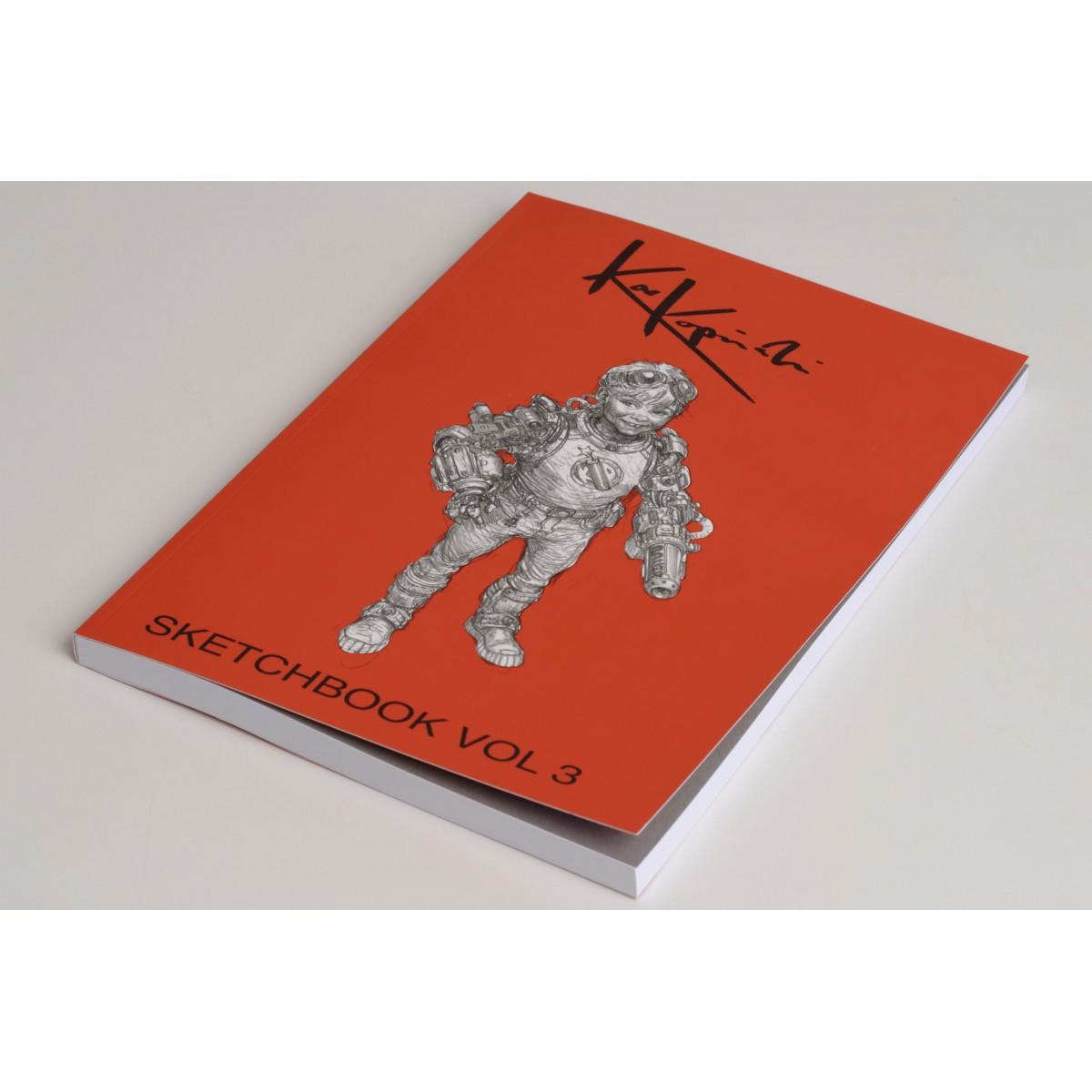 Karl Kopinski - Sketchbook Vol 3