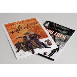BUNDLE - The KONG CREW - comic + print (signed and numbered) - Eric Hérenguel