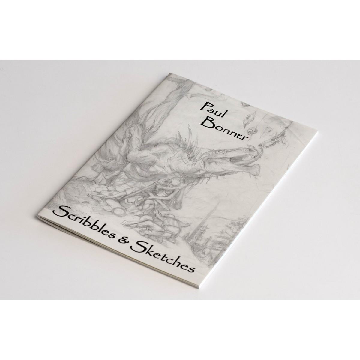 Paul Bonner - Scribbles & Sketches - Edition limitée