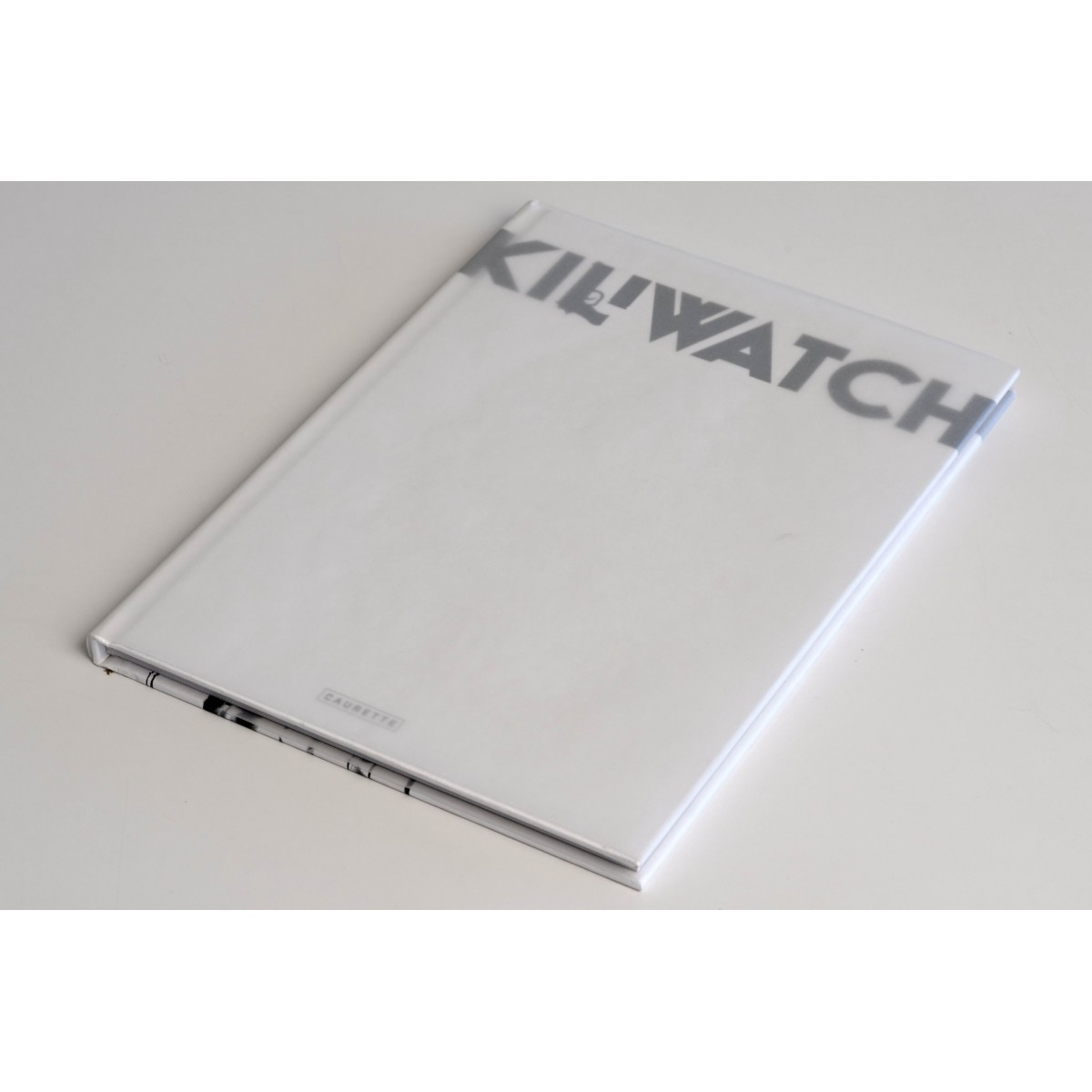 "KILIWATCH Collector - couverture originale ""Blank Cover"""