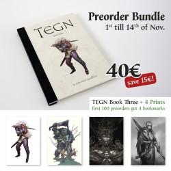 Even Mehl Amundsen - TEGN : Livre 3 - (Pack PRÉCOMMANDE)