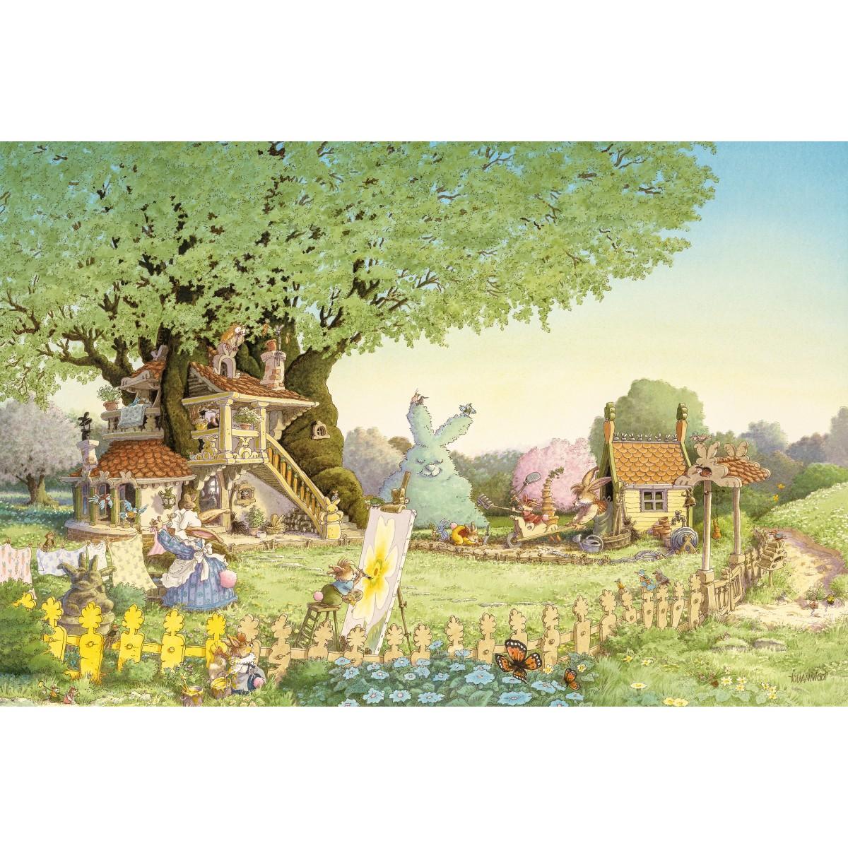 Loïc Jouannigot - Carte Postale Printemps