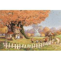 Loïc Jouannigot - Carte Postale Automne