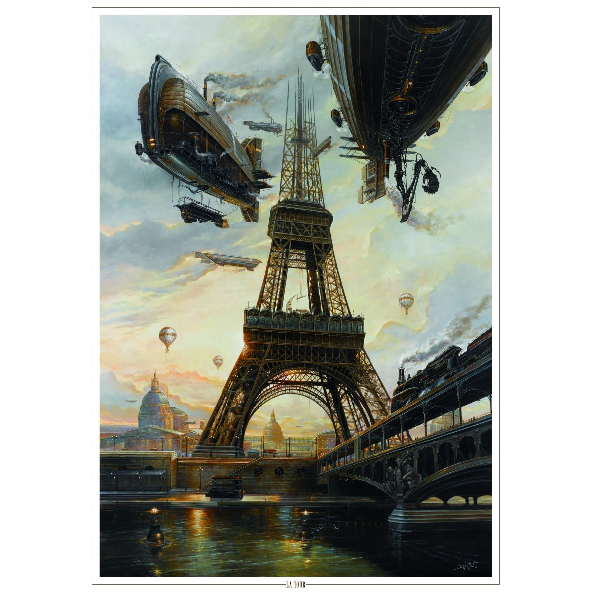 Didier Graffet - Poster The Tower