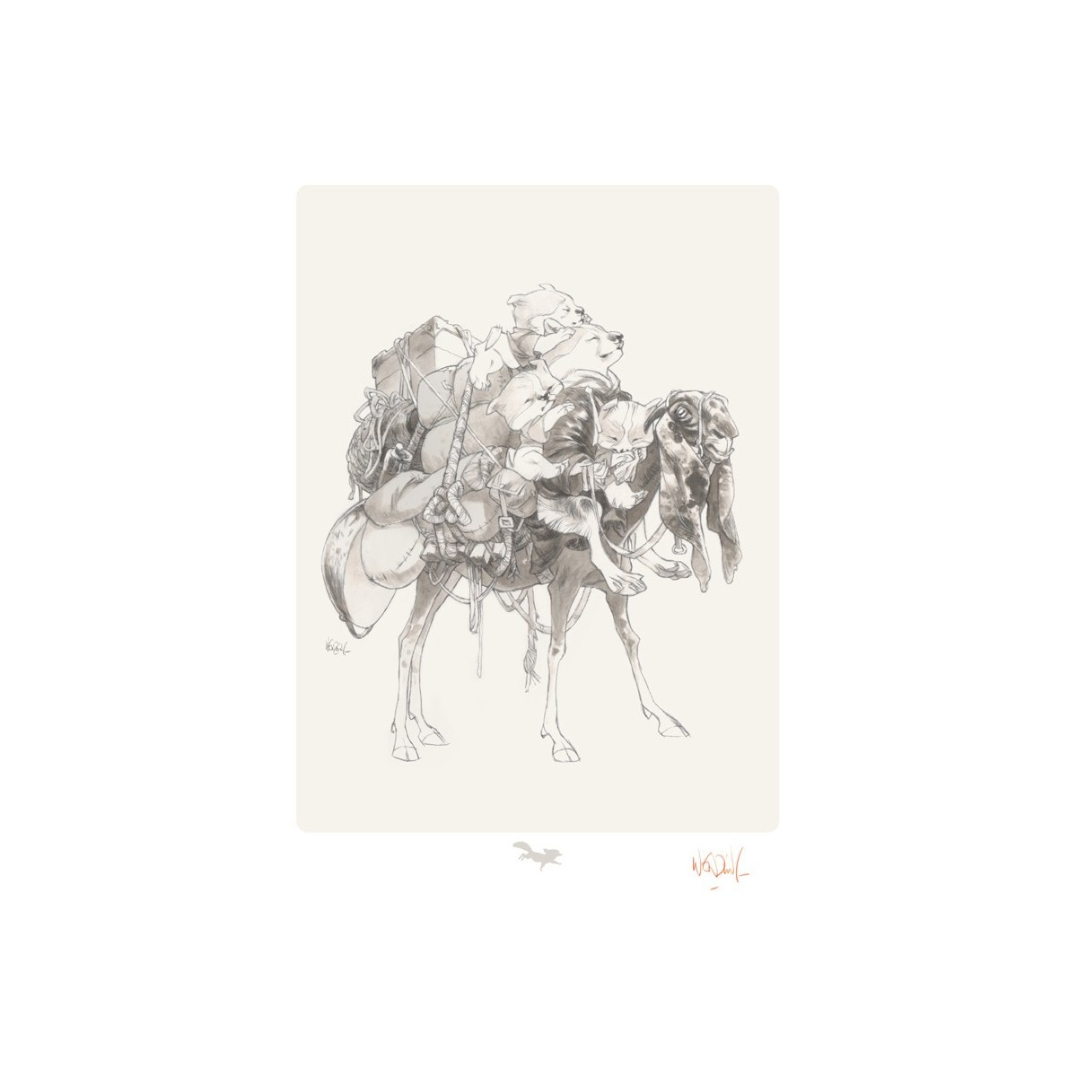 Carry On - Claire Wendling