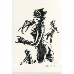 'Catwoman' print 20x30 cm - 149 copies - Edition Limitee