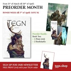 TEGN : Book Two - Even Mehl Amundsen - PRECOMMANDE