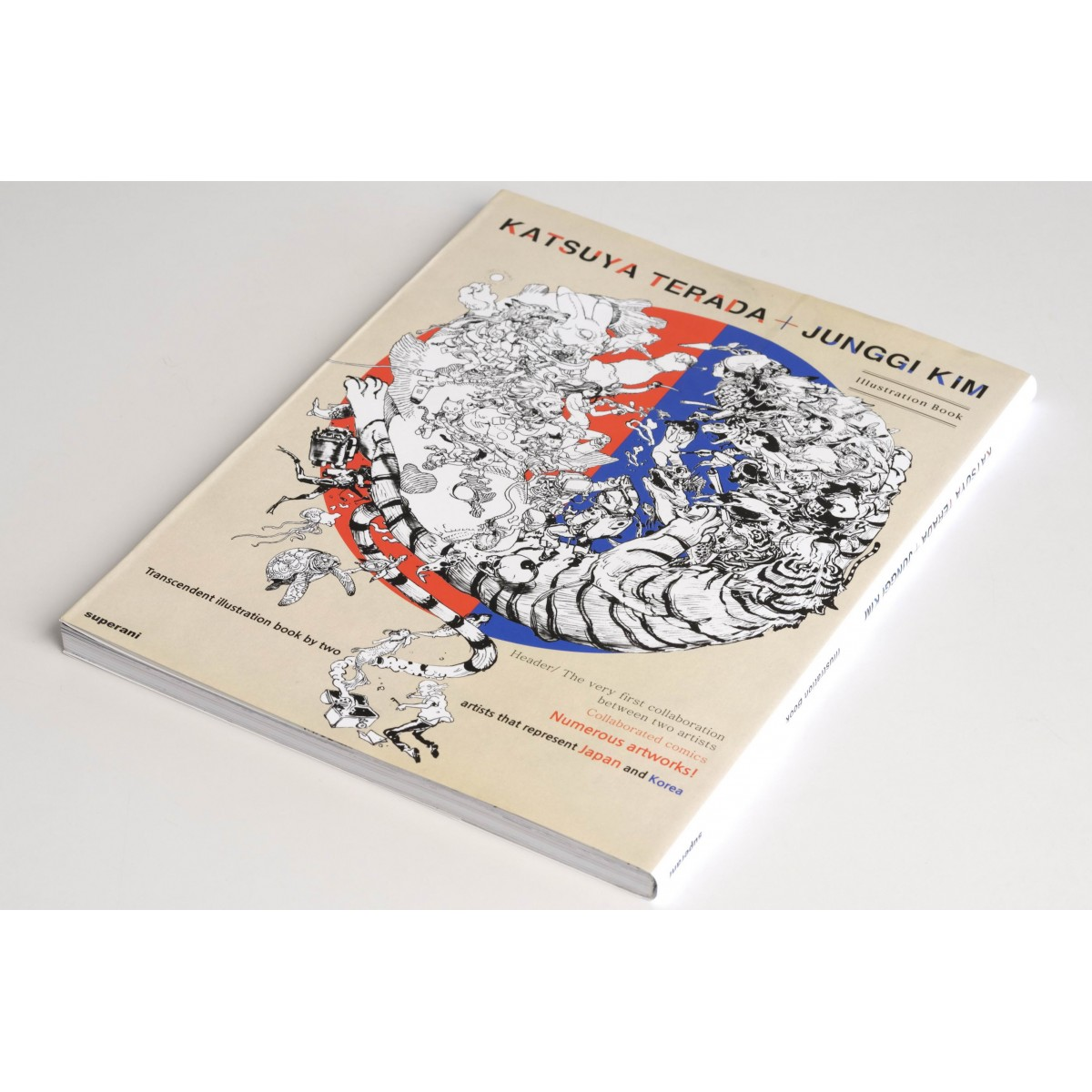 Terada Katsuya + Kim Jung Gi Illustration Book [English Version]