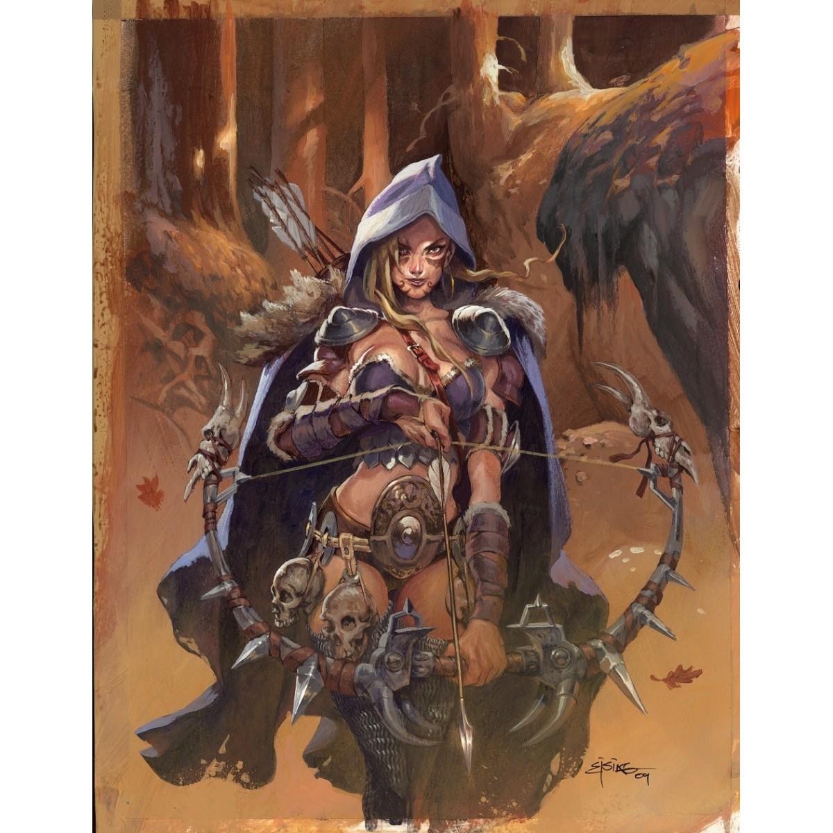 "Print ""Syrean the Bonecarver"" - Jesper Ejsing"