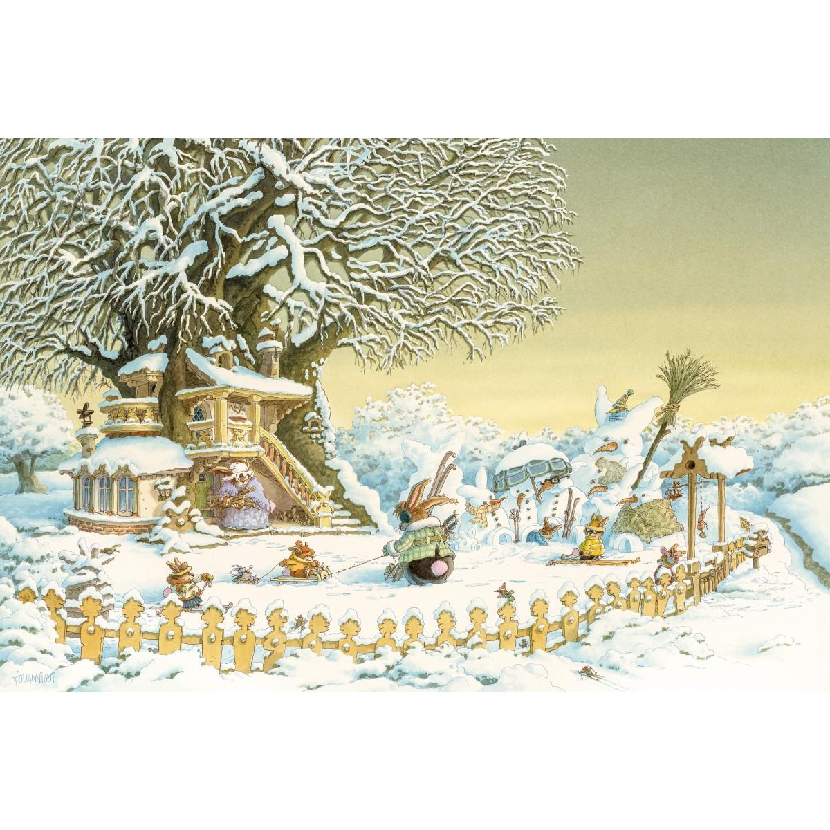Loïc Jouannigot - Postcard Winter