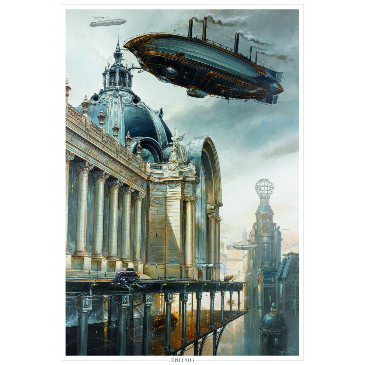 Didier Graffet - Poster The Petit Palais