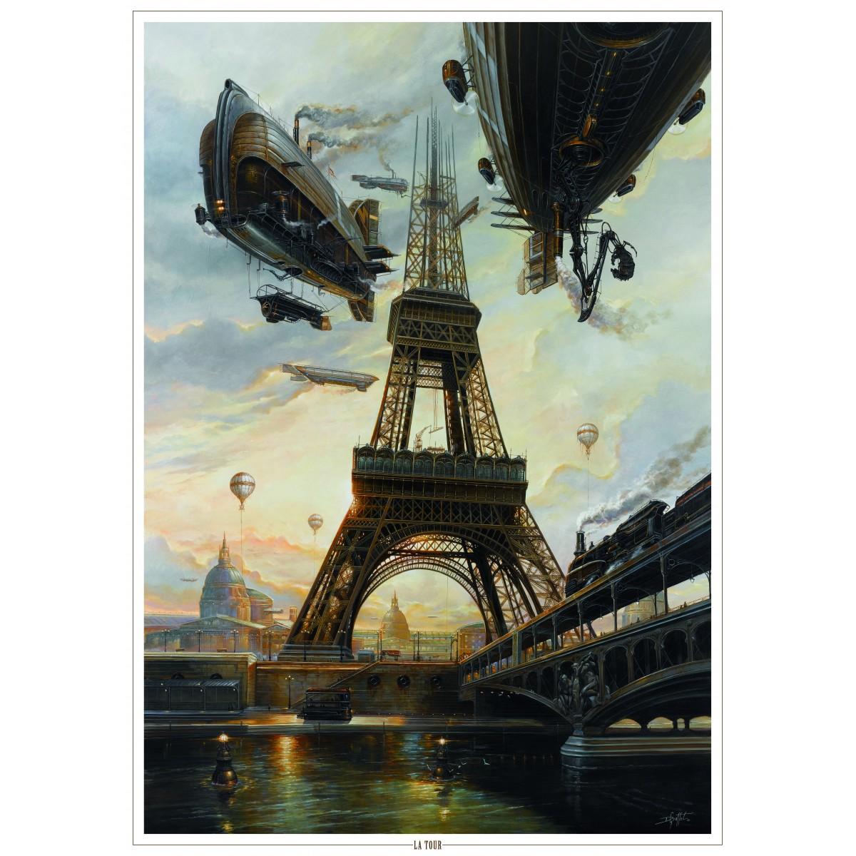 Didier Graffet - Affiche La Tour