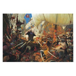Frédéric Pillot - Affiche Abordage