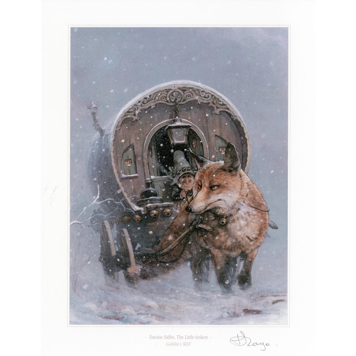 Jean-Baptiste Monge - Print Daoine Sidhe, The little tinkers
