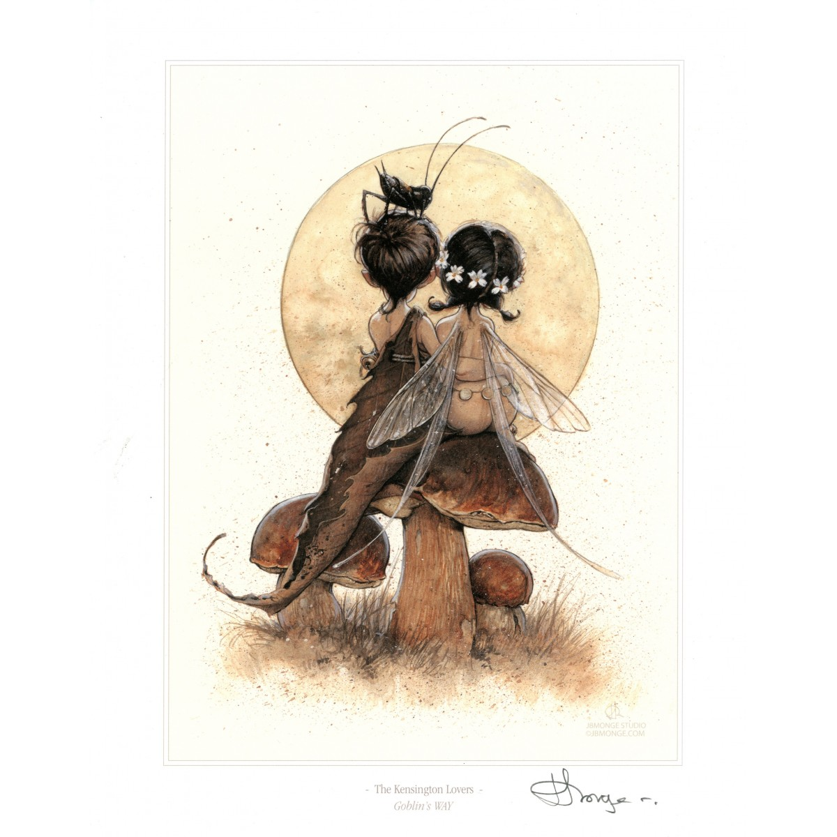 Jean-Baptiste Monge - Print The Kensington Lovers
