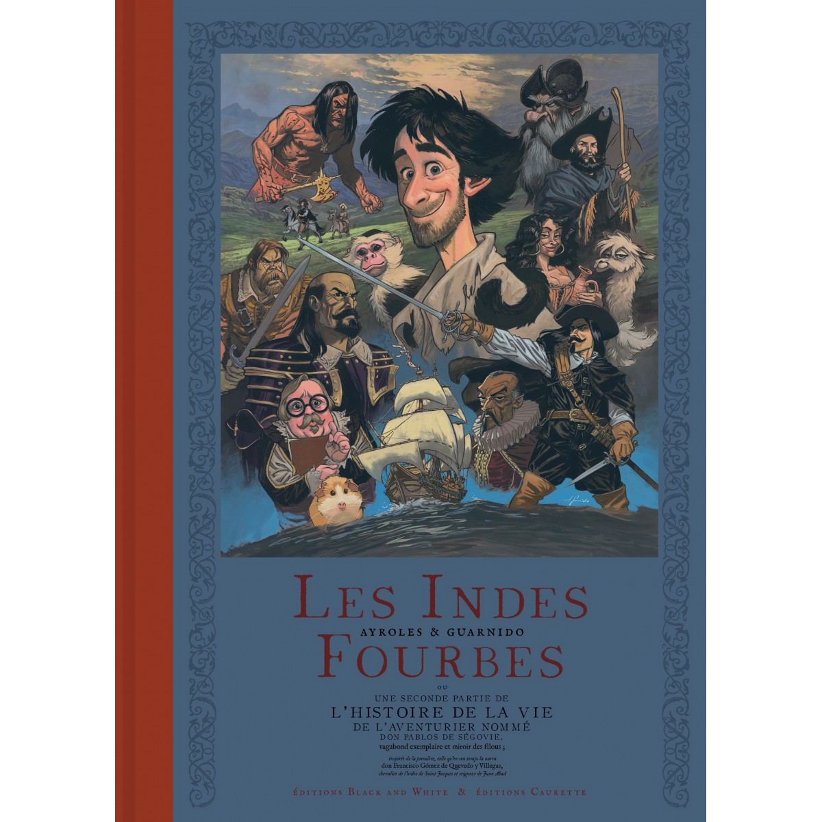 Les Indes Fourbes - French Artist's Edition (Pre-order)