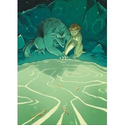 Fille et loup - Artbook