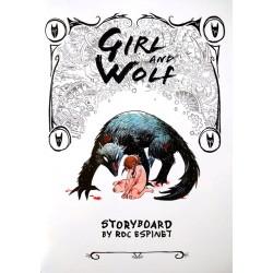 Fille et Loup (Storyboard)