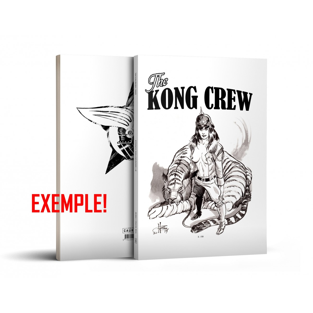 Eric Hérenguel - Kong Crew - Blank Cover