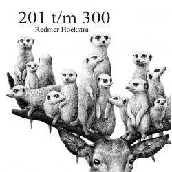 HOEKSTRA Redmer - 201 t/m 300 - Signé