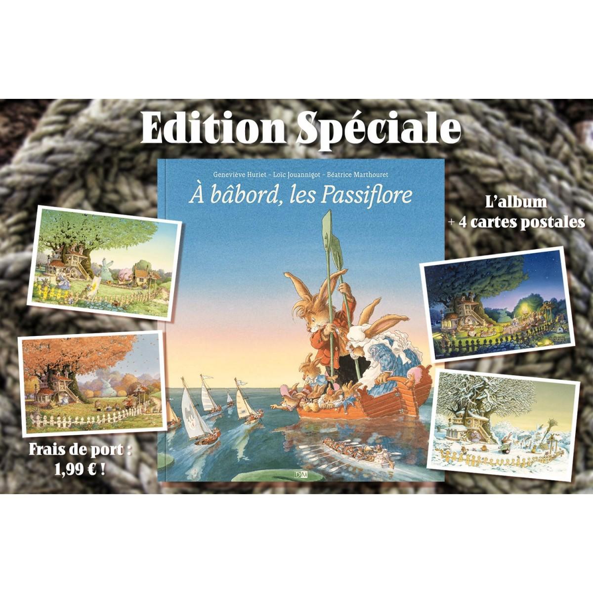 Loïc Jouannigot - À Bâbord, les Passiflore (Edition Spéciale)