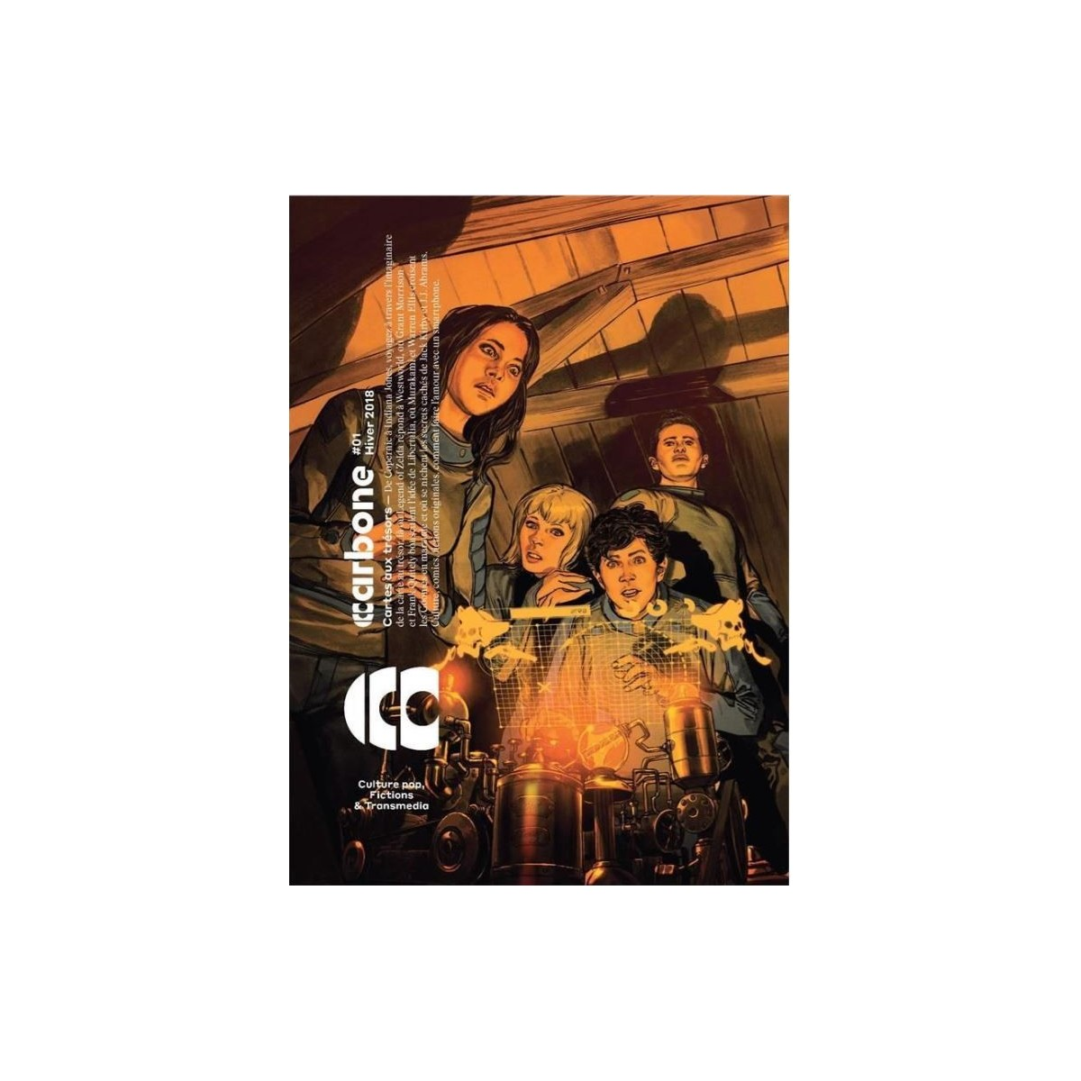 Carbone 01 - Revue transmédia