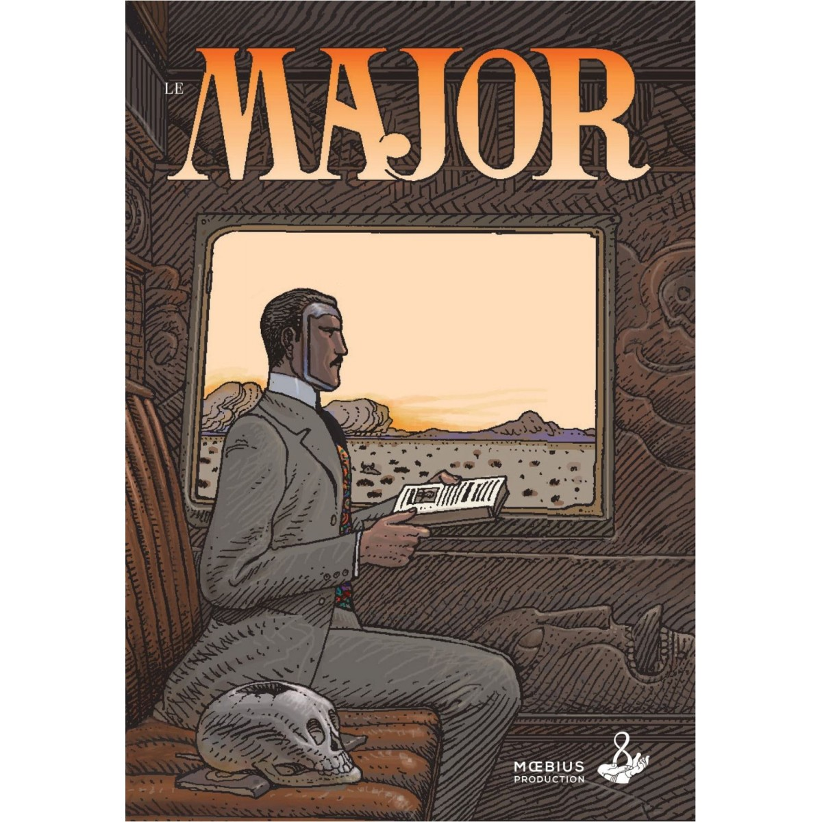 """Jean Giraud """"Moebius"""" - Le Major (FR)"""