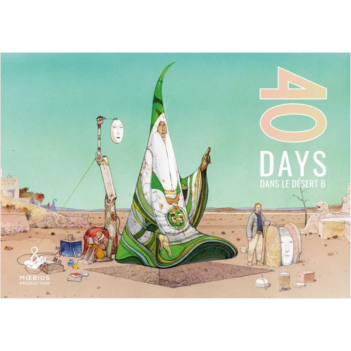 """Jean Giraud """"Moebius"""" - 40 Days dans le désert B (FR)"""