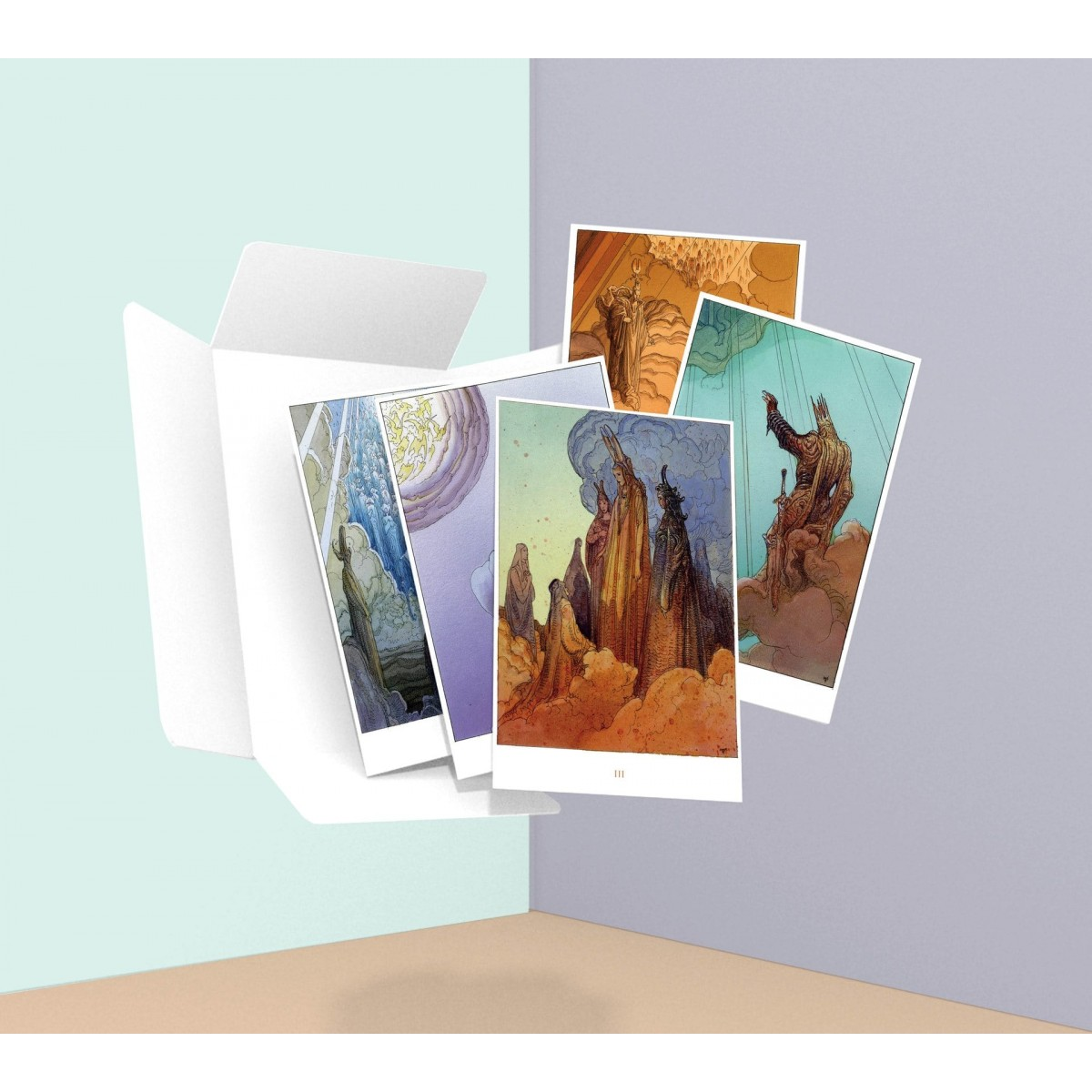 "Moebius - ""Paradiso"" Carnet de 18 cartes postales"