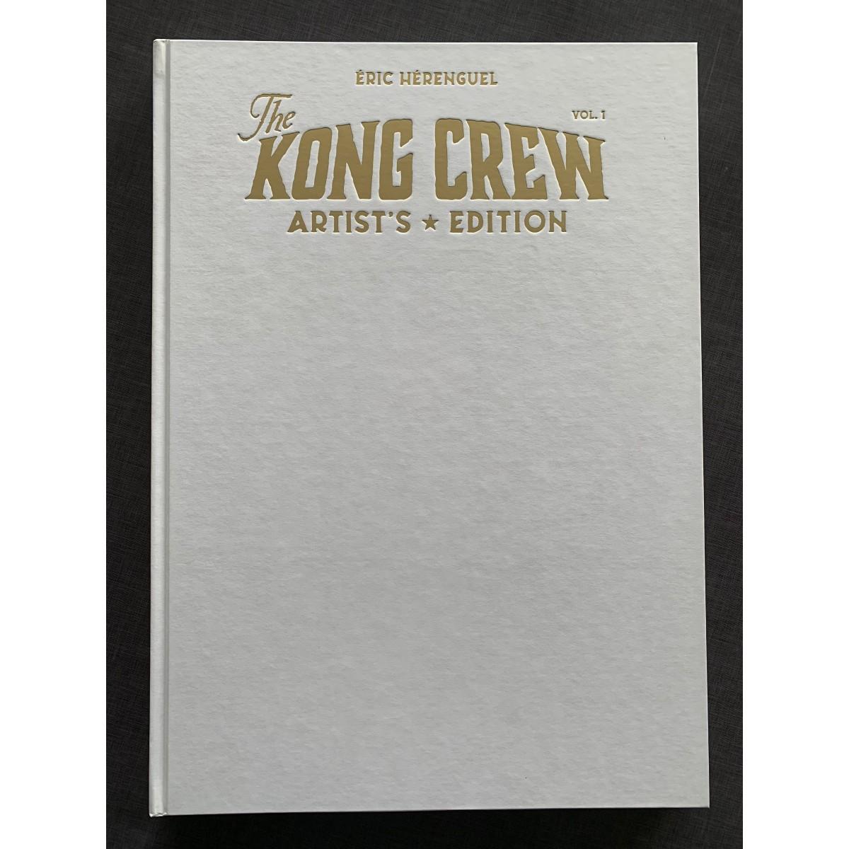 Eric Hérenguel - Kong Crew (de Deluxe à Blank Cover)
