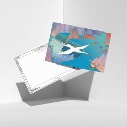 "Jean Giraud ""Moebius"" - Carnet de 18 cartes postales ""Destination Edena"""