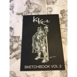 Karl Kopinski - Sketchbook Vol 2