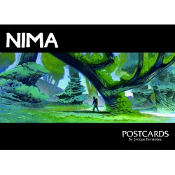 NIMA - BUNDLE postcards - Enrique Fernández