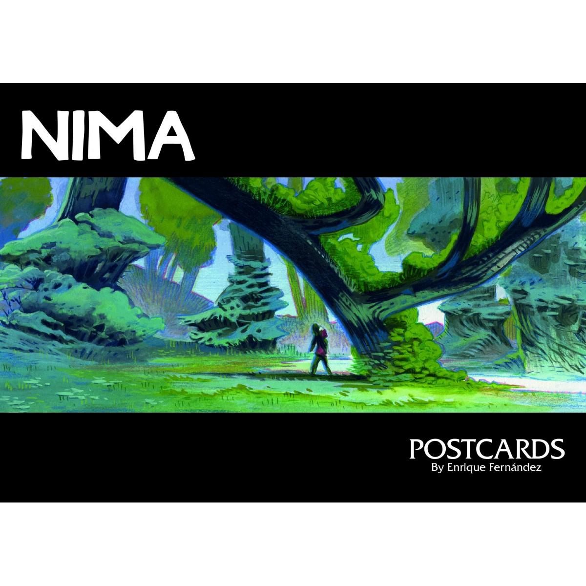 NIMA - BUNDLE postcards - Enrique Fernández