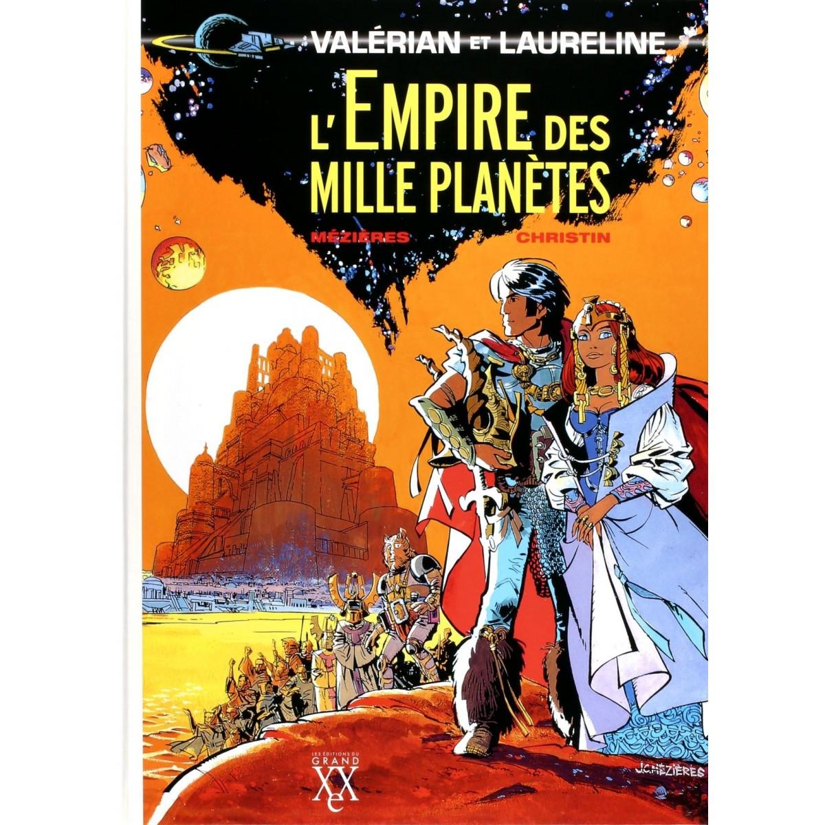 L'Empire des Mille Planètes (Valérian) - Tirage de Luxe