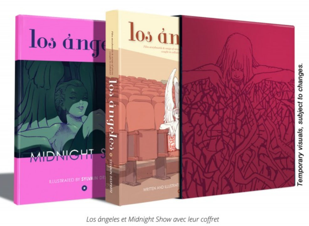 Coffret luxe los angeles + Midnight Show